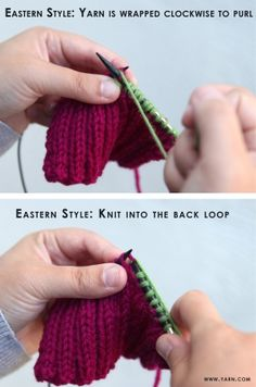 Knitting Tip - how to keep even tension in ribbing. No more wonky stitches!