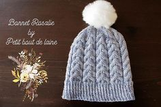 Ravelry: Le bonnet de Rosalie pattern by collete audrey