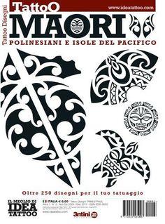 Maori Tattoo Flash Buch