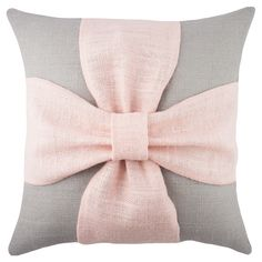Bow Pillow  #pink