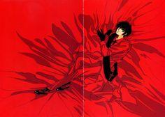 CLAMP, Tokyo BABYLON, Sumeragi Subaru (X), Red Background, Red Shirt, Red