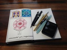 To drool over this wonderful artist's journal... Lazy Weekend by MagaMerlina, via Flickr