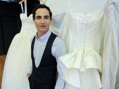 Zac Posen Bridal Line 'Truly Zac Posen' You Don't Have To be a Size 0 Anymore ~ Iconici Tv Fashion Budget Fashion, Fashion Tv, Party Fashion, Wedding Events, Wedding Gowns, Weddings, Truly Zac Posen, Bridesmaids And Mother Of The Bride, Wedding Day Inspiration