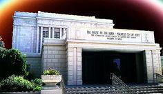 Mesa Temple  August, 2011