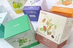 SSG PEACOCK 7 TEA TIMEBlending tea 7ea Package design