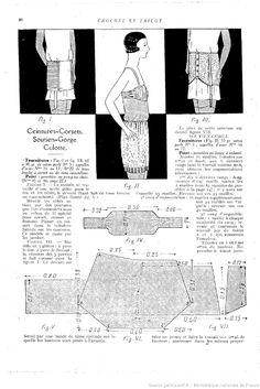Crochet et Tricot 1928–knitted shapewear!?