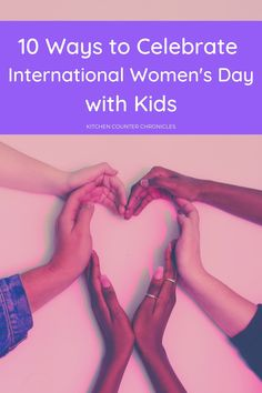 A creative collection of ways to celebrate International Women's Day with kids. Thoughtful, educational and engaging activities, booklists, inspiring ideas and more, that are great for kids of all ages. #internationalwomensday #internationalwomensdayforkids #girlpower #girlempowermentactivities #historyofwomen #womensdayactivities #iamagirl #girlpoweractivities #feministactivities #feministactivitiesforkids Learning Games For Kids, Kid Activities, Educational Activities, Teaching Kids, Art For Kids, Crafts For Kids, Women's History, Ladies Day, 5 Ways