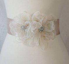 Cinturón para vestido de Novia  , damas de honor, primera comunión, Vintage Dream, pídelo del tamaño que deseas, personaliza estilo y colores desde $400 a $650 según diseño.