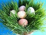How to make your own Easter grass- Love this!