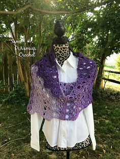 Ravelry: Arches of Citadel Shawl pattern by Dianne Hunt