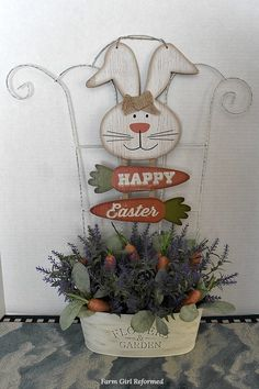 3 DIY Easter Projects from Dollar Tree - Farm Girl Reformed 3 DIY Easter projects from Dollar Tree-here are three easy, budget-friendly projects from Dollar Tree to add to your Easter decor! Diy Craft Projects, Diy Projects Easter, Crafts To Do, Easter Crafts, Diy Crafts, Easter Ideas, Craft Ideas, Bible Crafts, Fun Ideas