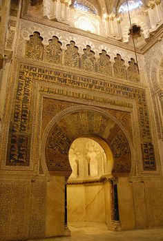 Mezquita and the Great Mosque of Córdoba. Cordoba, Spain. 784