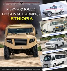 Armored Military Vehicles ETHIOPIA