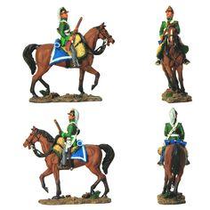 Soldado de caballería ligera (Chevau-léger) del Ejército de Baviera, aliado de Napoleón - 1792 (delPrado) Subido desde www.elgrancapitan.org