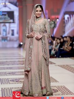 Mehdi Bridal Collection at Telenor Bridal Couture Week 2014 Pakistani Couture, Pakistani Bridal Wear, Pakistani Dresses, Women's Ethnic Fashion, Asian Fashion, Bridal Outfits, Bridal Dresses, Asian Wedding Dress, Desi Clothes
