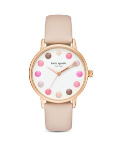 kate spade new york Makeup Metro Watch, 34mm