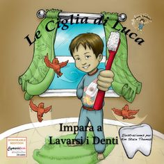 #Italian Cover for Book 2!  #lucalashes #kids    www.lucalashes.com