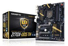 Gigabyte revela nova motherboard Z170X-UD5
