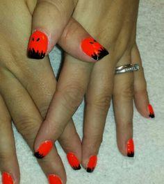 nail art, halloween nails