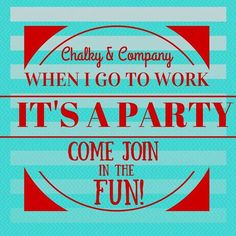 Chalky & Company      Chalky & Chalk and Company party parties Painters Painter's powder Paint choice Kit