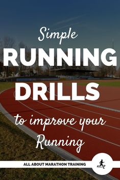 Simple Running Drills to Fast Track your Running!
