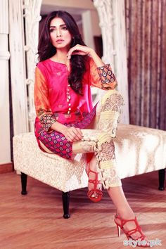 Annus Abrar Eid Dresses 2015 For Girls 6