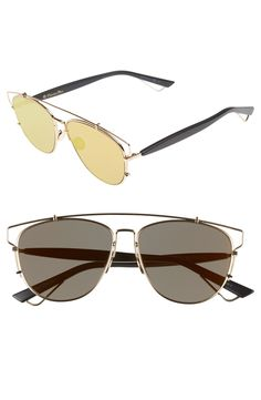 75c25064c01 Dior  Technos  57mm Sunglasses available at  Nordstrom Sunglasses Women