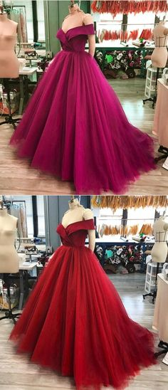 elegant off shoulder prom party dresses, fashion formal evening gowns, simple purple ball gowns, #promdress