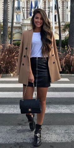 Winter Fashion Outfits, Fall Winter Outfits, Look Fashion, Autumn Fashion, Womens Fashion, Winter Style, Holiday Fashion, Fashion Edgy, Feminine Fashion
