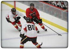 Calgary Flames training camp 5.