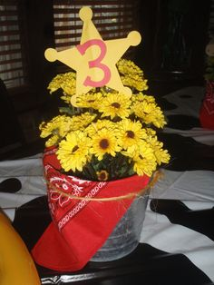 Cowboy/Cowgirl Themed Party Centerpieces by 1CreativeMommy on Etsy, $5.00