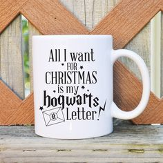 These one of a kind mugs are a must-have for any Harry Potter fan and are great as gifts! Made with high quality ceramic mugs, all products are dishwasher and microwave safe. Mugs are 11 oz in size. Designs are on both sides of the mug.DESIGNS  Don't let the muggles get you downI'd rather be at Hogwarts I solemnly swear I am up to no good 9 3/4 Accio Coffee Accio Tea Mischief Managed I'm a Keeper Everyday I'm Mugglin' After all this time...