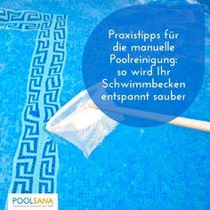 Praxistipps für die manuelle Poolreinigung: so wird Ihr Schwimmbecken entspannt sauber