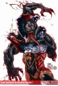 Colossus vs Venom by Simone Bianchi