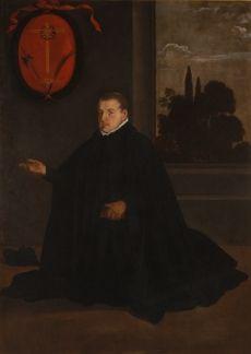 Retrato de D. Cristóbal Suárez de Ribera RODRÍGUEZ DE SILVA y VELÁZQUEZ, Diego (Sevilla, 1599 - Madrid, 1660) Óleo sobre lienzo