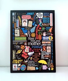 "Quadro ""How I Met Your Mother"" -Grande"