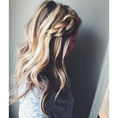 simple braid, textured hair