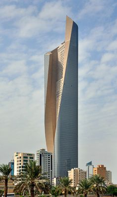 Unfolding the Al Hamra Firdous Tower by SOM #architecture ☮k☮