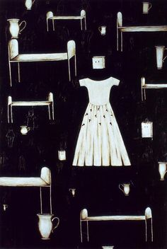 Séraphine Pick,''Untitled' (The Dress)', Oil, pencil and crayon on canvas, 2445 x 1670 mm Artist Painting, Artist Art, Still Life Artists, New Zealand Art, Nz Art, Painting Still Life, Feminist Art, Watercolor Illustration, Art Images