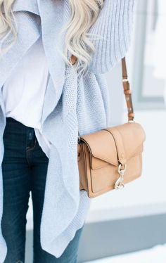 #street #style / gray cardigan