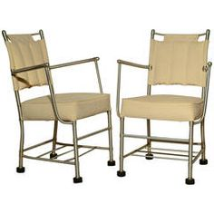 Pair of Warren McArthur Armchairs, circa 1939