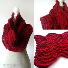 Waves Knit Cowl | NOTON by Raquel Shop
