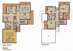 3 Bedroom 3687 sq ft - Saheel - Arabian Ranches - Dubai Floor Plans