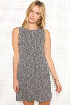 Sparkle & Fade Stripe High Neck Dress at Urban Outfitters