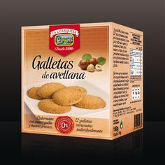 Restyling imagen gama de galletas artesanas con frutos secos. | #packaging #foot #sauce #cookies