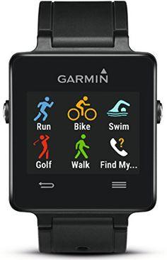 Garmin Vivoactive GPS Smartwatch Plus Heart Rate Monitor Triathlon Watch, Triathlon Training, Fitness Monitor, Garmin Vivosmart Hr, Best Fitness Watch, Running Watch, Wearable Technology, Tablets, Fitness Tracker