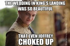 #GameOfThrones The Beautiful Purple Wedding Meme | Game Of Thrones Memes and Quotes