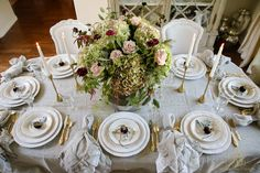 Traditional Thanksgiving Tablescape - How to Dress your Table