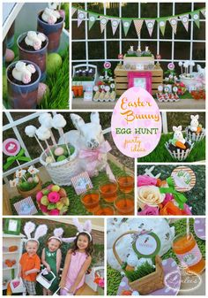 Easter Bunny Egg Hunt Party