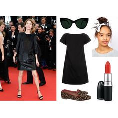 Inspired by Sophia Copola Cannes Red Carpet Fashion by mo-saique on Polyvore